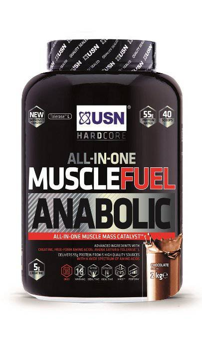 USN Muscle Fuel Anabolic Lean Muscle Gain Powder