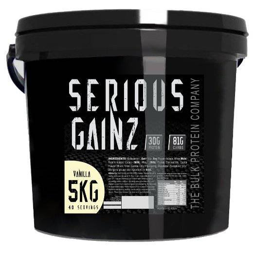 The Bulk Protein Company Serious Gainz