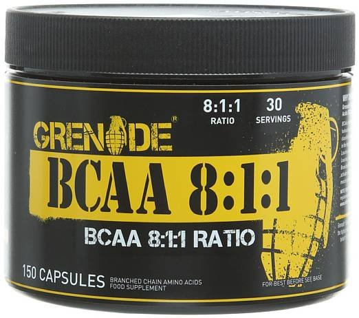 Grenade Essentials BCAAs 8 1 1