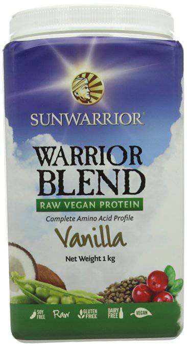 SunWarrior Warrior Blend Raw Protein