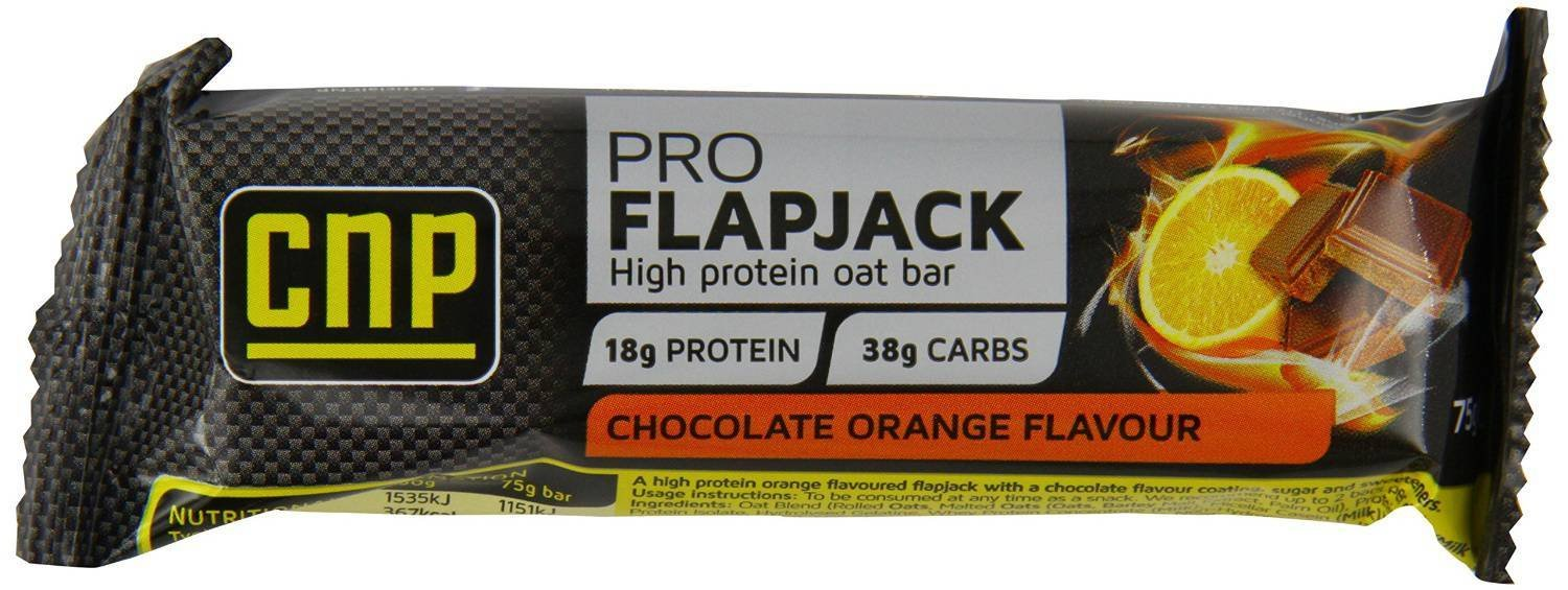 CNP ProProtein Flapjack Chocolate Orange