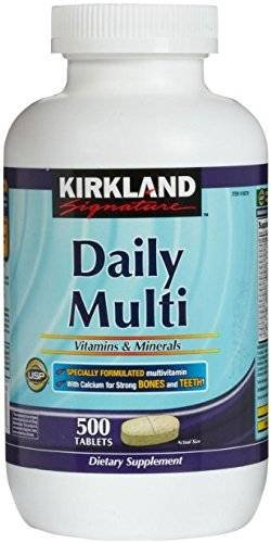 Kirkland Signature Daily Multi Vitamins and Mineral Tablets