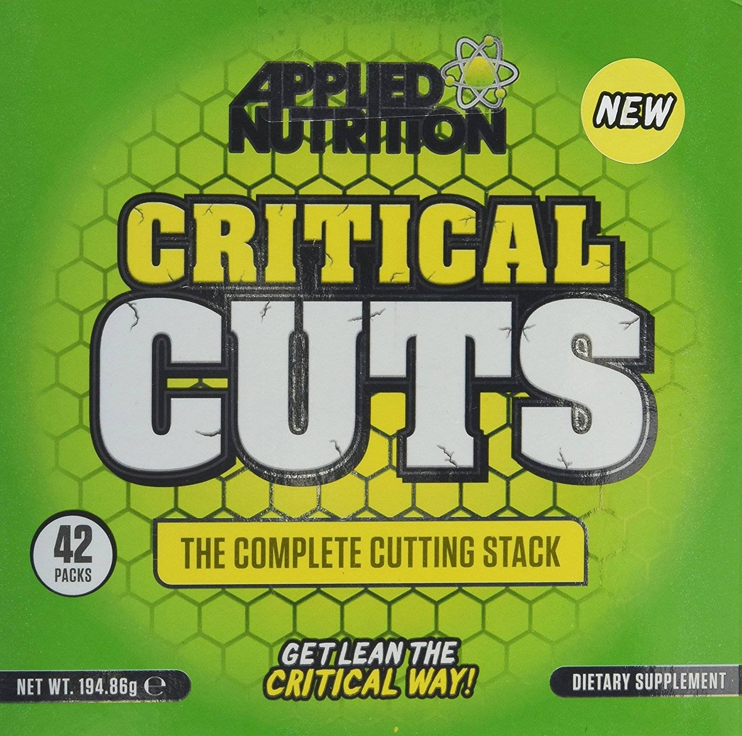 Applied Nutrition Critical Cuts Sports Supplemen